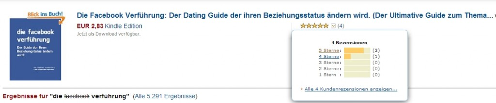 Bewertung Facebook Guide